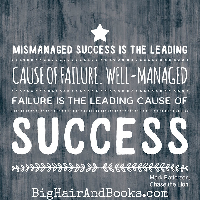 Success and Failure quote from Chase the Lion by Mark Batterson #mustread #chasethelion