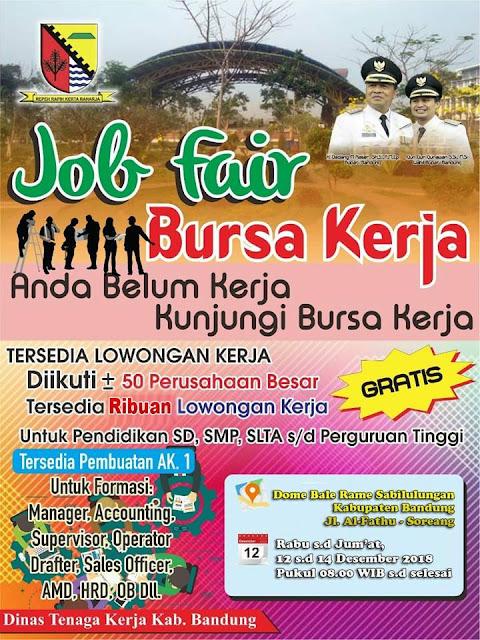 Job Fair / Bursa Kerja Kabupaten Bandung
