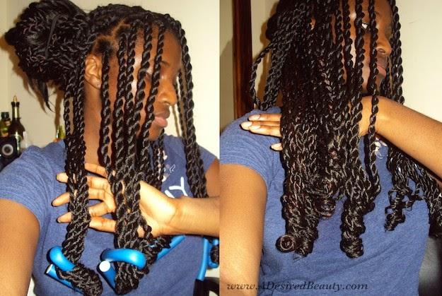 My Senagalese Twists/Crochet Braids | A Desired Beauty