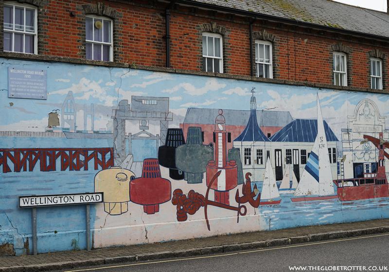 Street Murals in Harwich