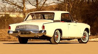 1962 Studebaker Gran Turismo Hawk  Rear