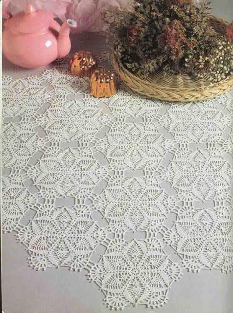 Hobby lavori femminili ricamo uncinetto maglia - Schemi per piastrelle all uncinetto ...