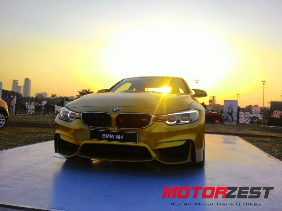 BMW at 2015 Parx Super Car Show in Mumbai