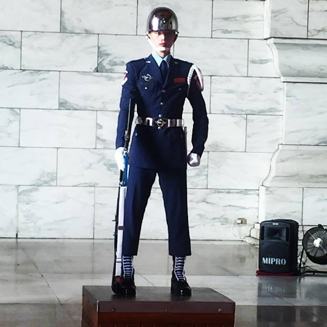 guards at Taiwan