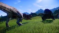 Jurassic World Evolution - Ceratosaurus vs Triceratops