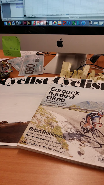 Cyclist Magazine internship northumbria university