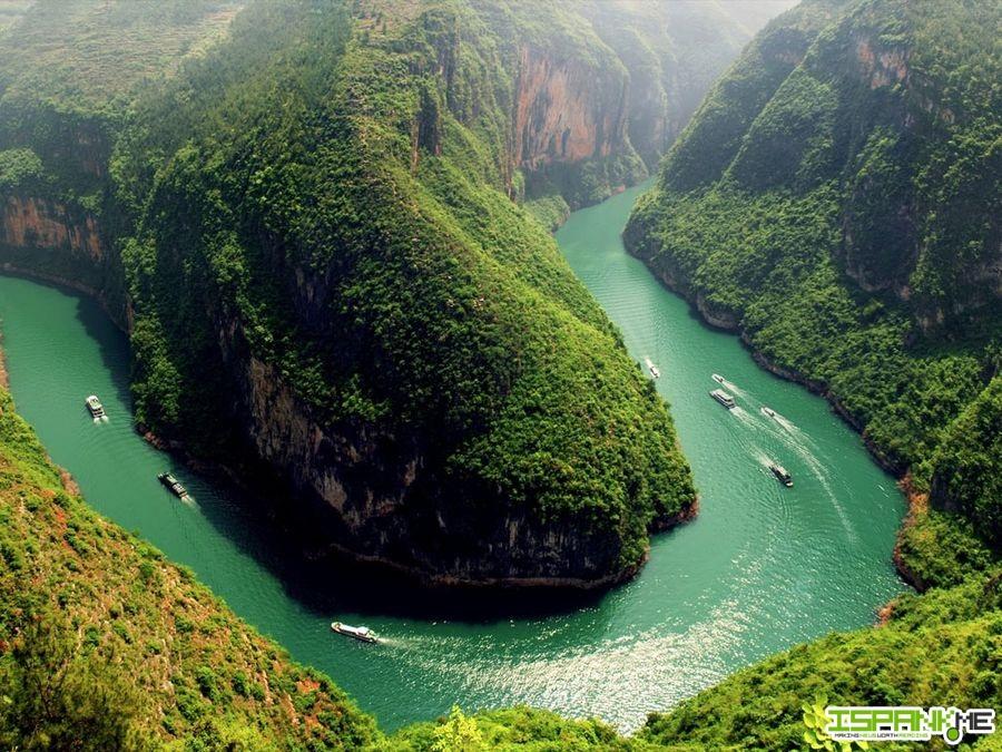 Algunos Paisajes Asombrosos En China Tecnorapia - Paisajes-asombrosos