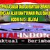 Peduli Gempa dan Tsunami Donggala  Kodim 1415/Selayar Buka Posko Penggalangan Dana