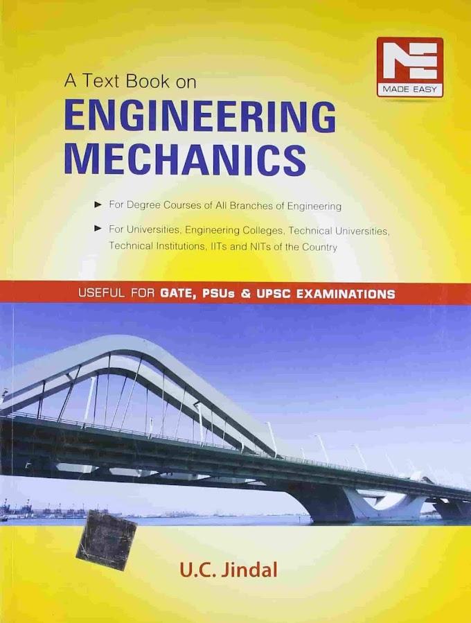 [PDF] Engineering Mechanics U C JINDAL By Made Easy