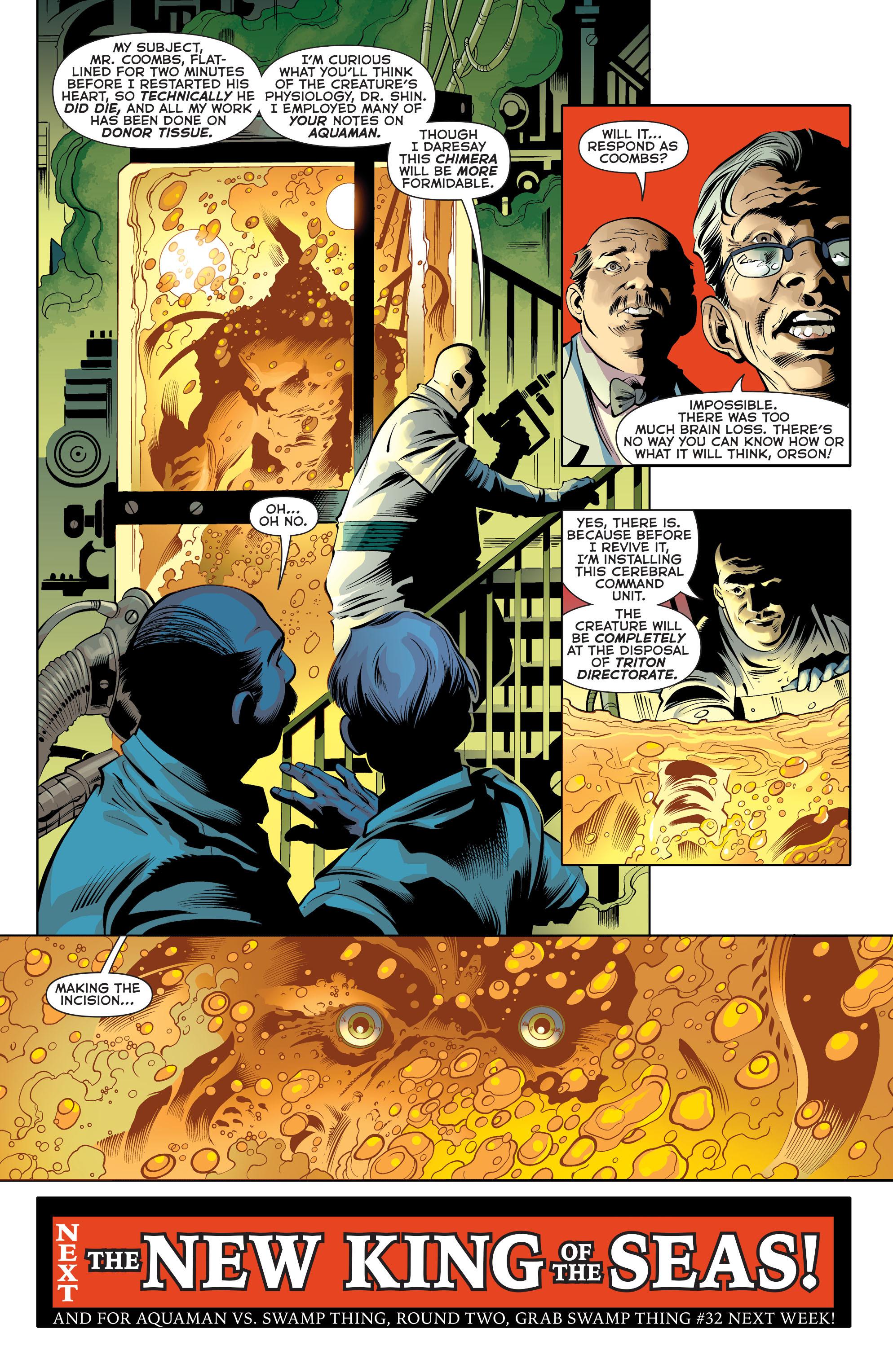 Read online Aquaman (2011) comic -  Issue #31 - 20
