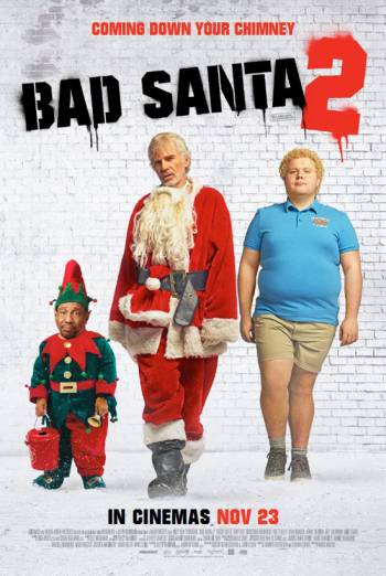 Bad Santa 2 2016 English HDRip 650MB