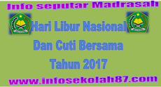 Hari Libur Nasional Dan Cuti Bersama 2017