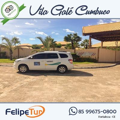 transporte do aeroporto para vila gale cumbuco