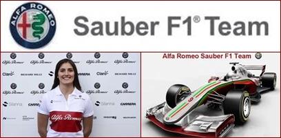 Tatiana Calderón, confirmada como piloto de pruebas del Alfa Romeo