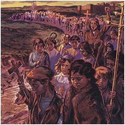 Resultado de imagen de la cruzada de los niños