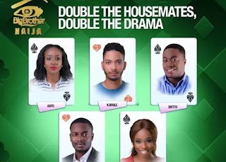 Entertainment: BBNaija! Drama as housemates choose their partners[See details of pairing]