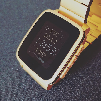 Galasix watchface, a galaxy watch face for Pebble