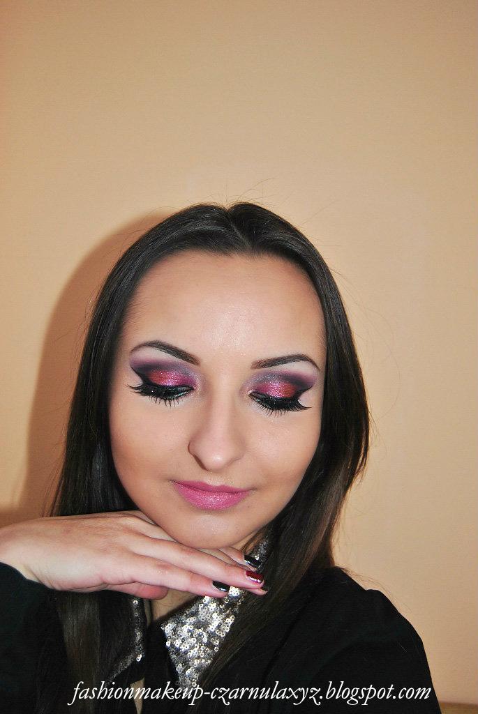 New Years Eve Makeup Czerwona Sukienka Blogi Modowe