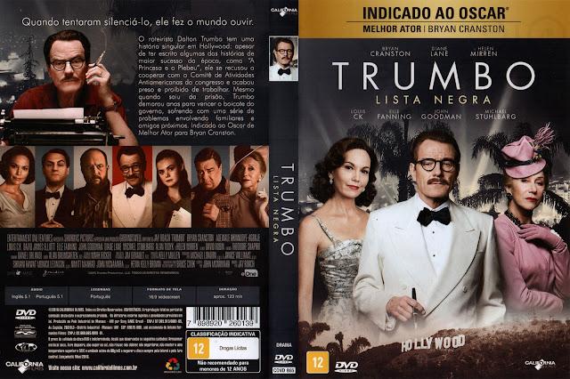 Capa DVD Trumbo Lista Negra
