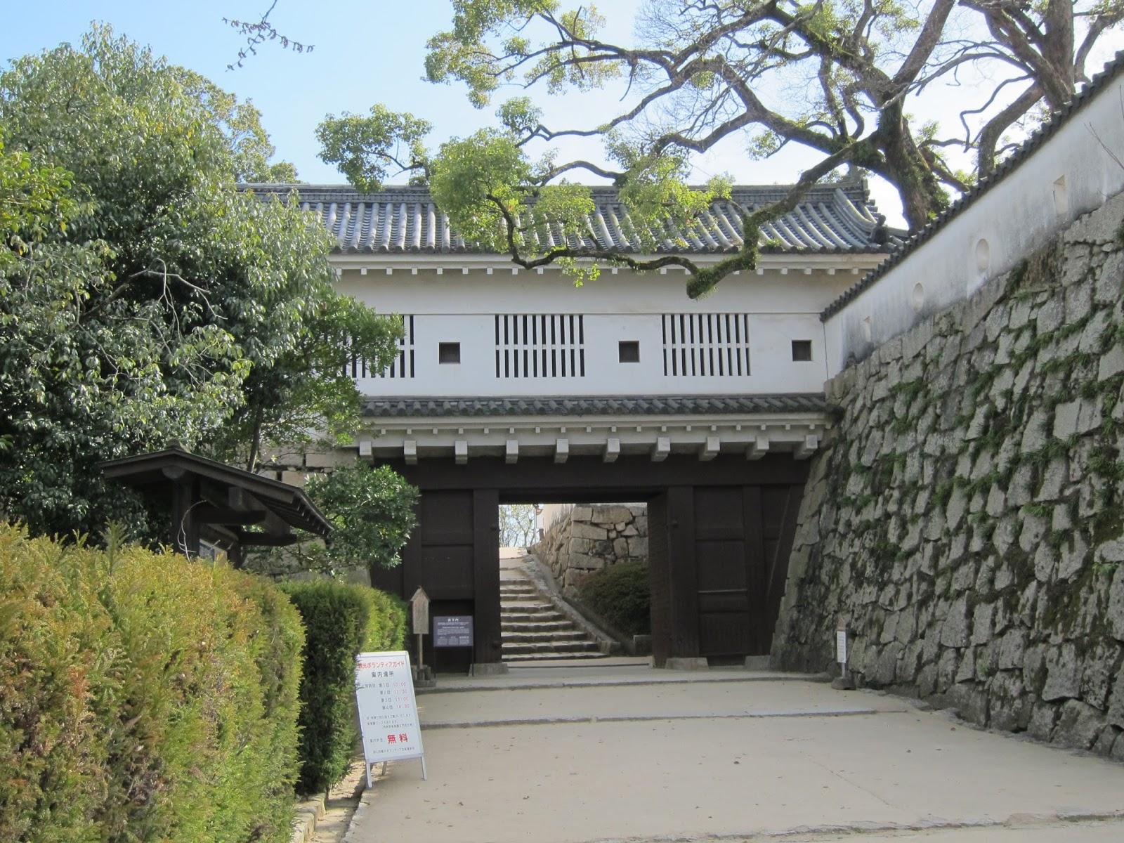 22 03 2016 Okayama Burg Korakuen Garten Auf Grossen Fussen Durch
