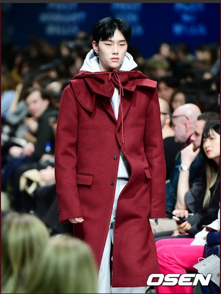 Kwon Hyun Bin Hera Seoul Fashion Week 2018