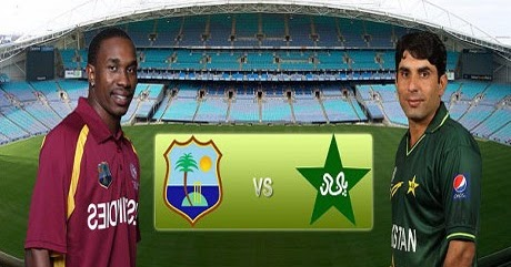 West indies Vs Pakistan 1st T20 Live Score Today Match