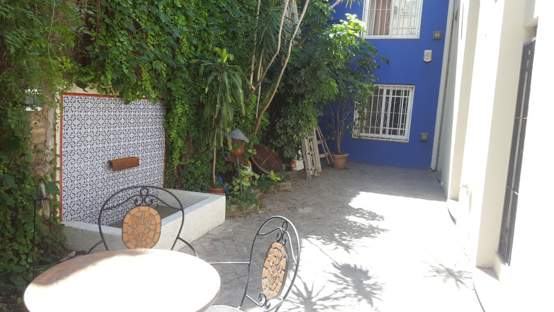 Patio of Casa Chorizo