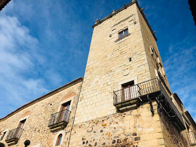 Viajar a Extremadura parador Cáceres