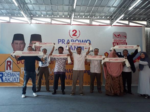 Relawan R2 Siap Bangun 1 Juta Posko Prabowo - Sandiaga