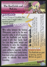 MLP The Hooffields and McColts Series 4 Trading Card