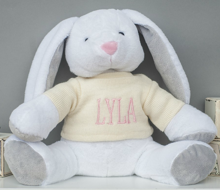 Easter bunny, Easter rabbit, rabbit soft toy for babies
