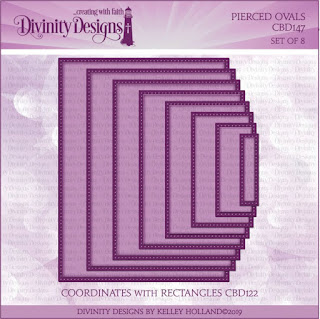 Divinity Designs LLC Custom Pierced Rectangles Dies