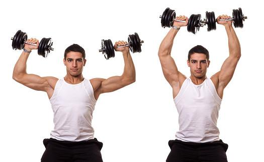 how to build biceps with dumbbells