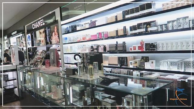 Andar térreo da Monalisa: perfumaria e cosméticos