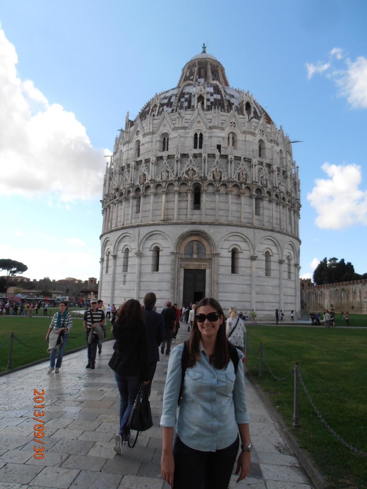 Batistério de Pisa - Itália