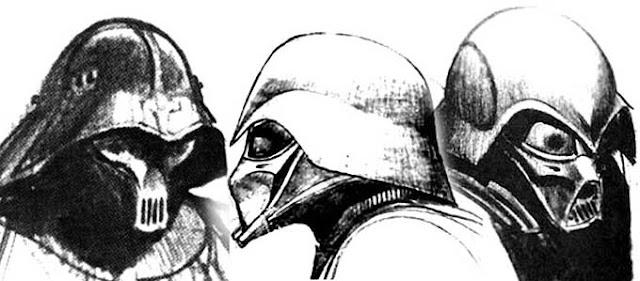 Early Darth Vader concept designs