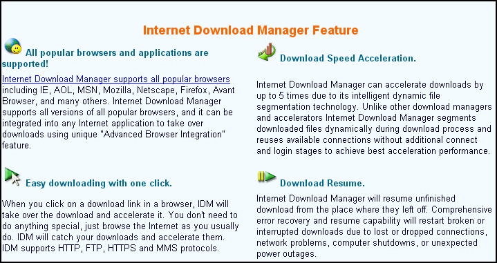 IDM latest Features download full IDM