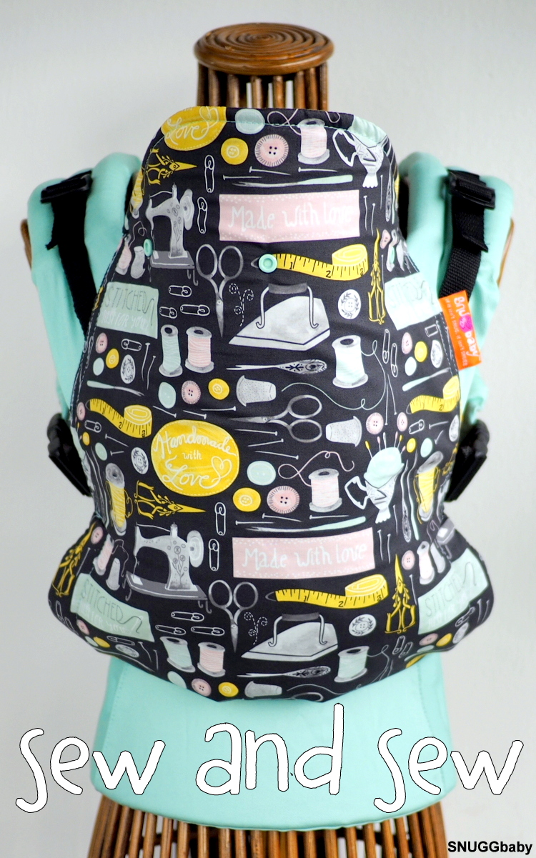 Snuggbaby Stork Soft Structured Carrier (SSC) Sew and Sew in Standard size.