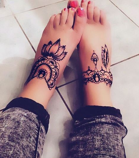95 Most Popular Foot Tattoos For Women 2018 Updated: Mytattooland.com: Amazing Foot Tattoos