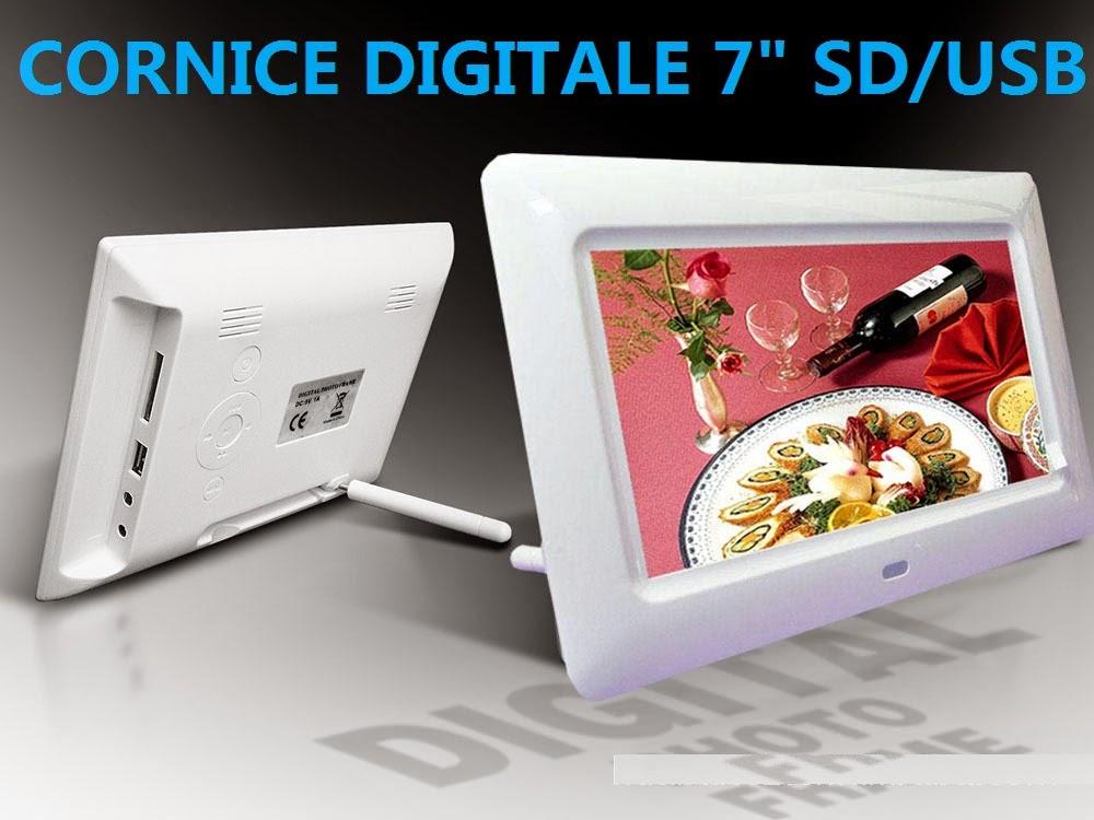 Cornici Digitali Con Usb.Cornice Digitale 7 Poliici Per Vostro Foto Sd Usb Con