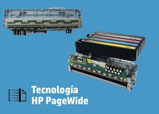 la tecnologia de pagewide en hp
