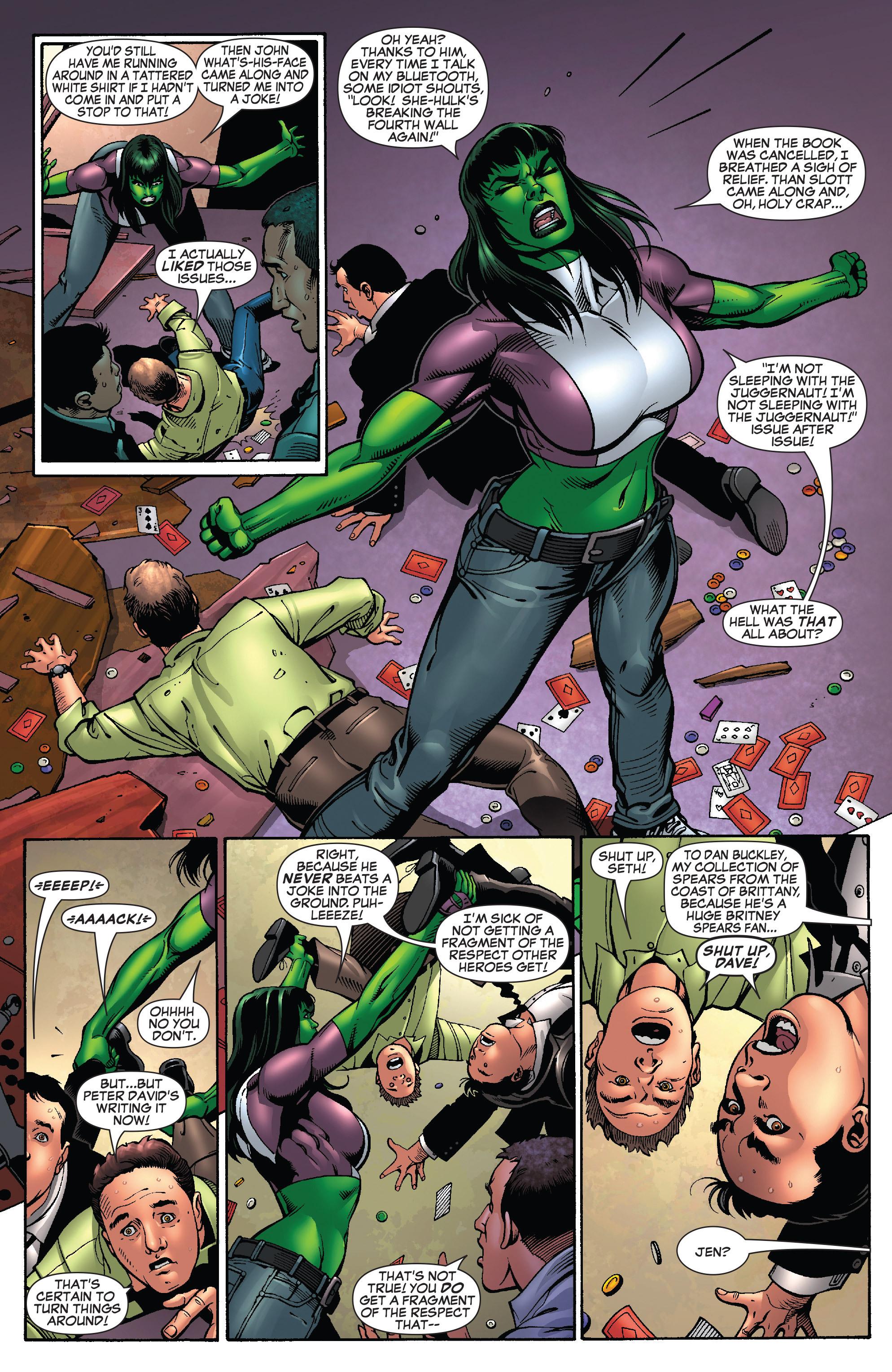 Read online She-Hulk (2005) comic -  Issue #25 - 33