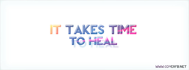 take time To heal Facebook cover