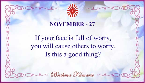 Thought For The Day November 27