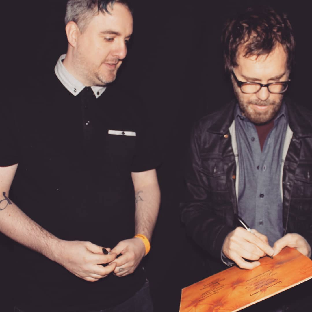 I met Ben Folds again (Belfast)