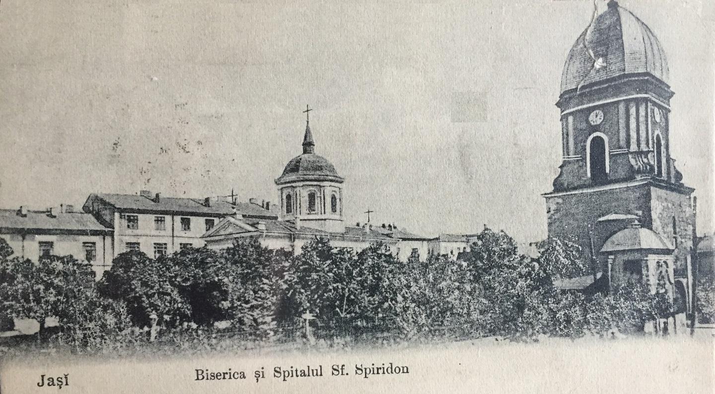 Turist în Orașul Iași (Iassy/Jassy): Spitalul Universitar Sfântul Spiridon