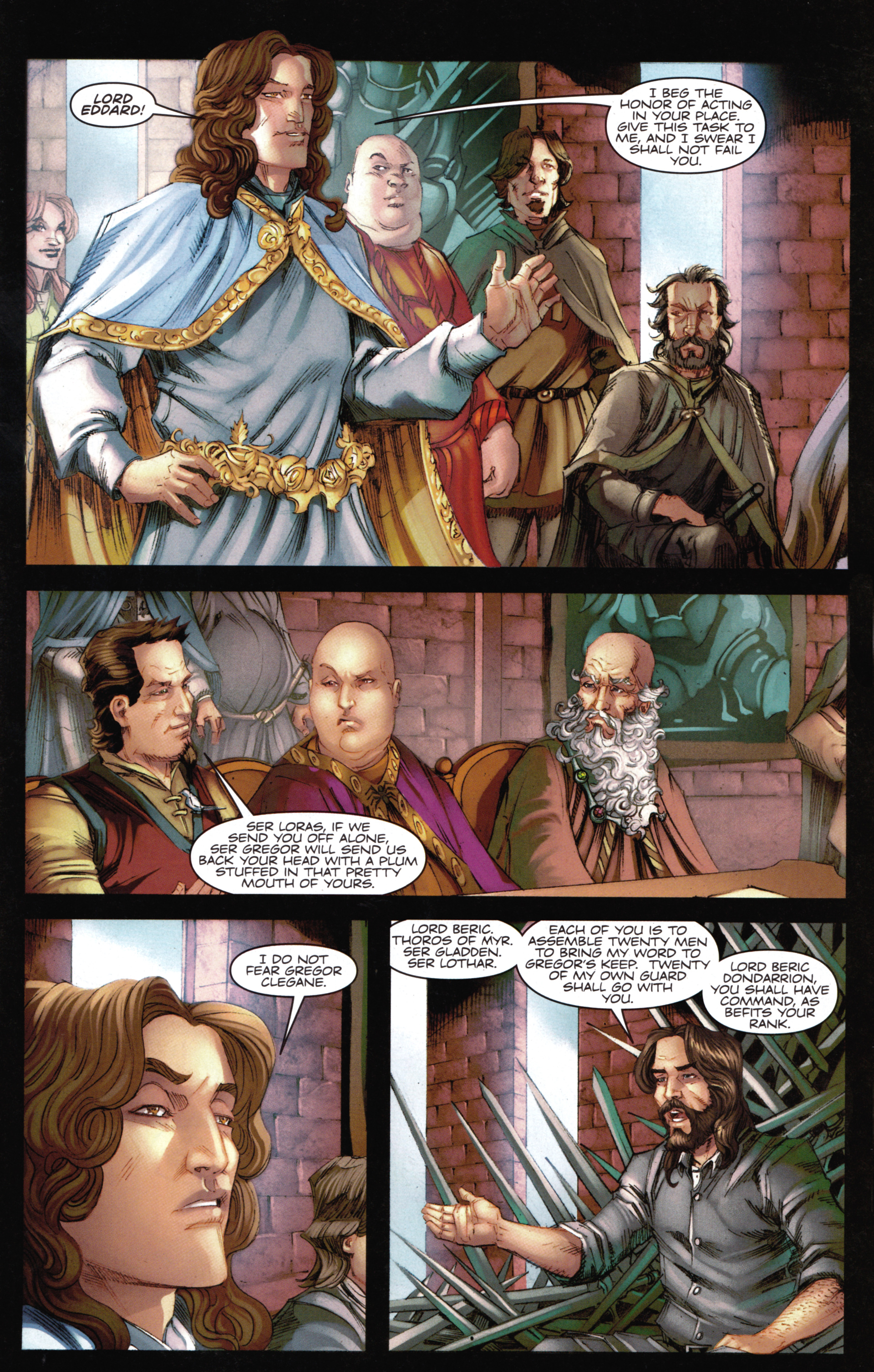 Read online A Game Of Thrones comic -  Issue #14 - 7