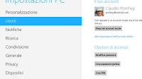 Gestione account utente in Windows 10 per cambiare password o reimpostarla