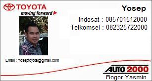 Rekomendasi Sales Toyota di Kota Bogor