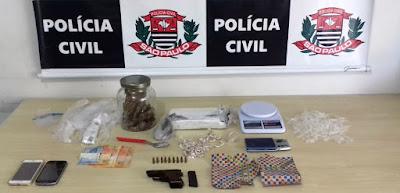 Polícia Civil  prende um traficante em Registro-SP
